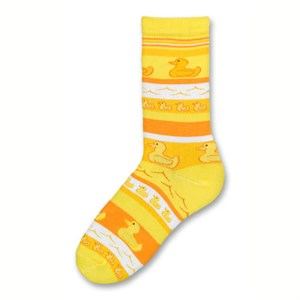 Psychabright Rubber Ducky Socks