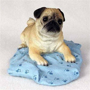 Pug Figurine Brown MyDog