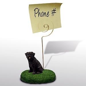 Pug Note Holder
