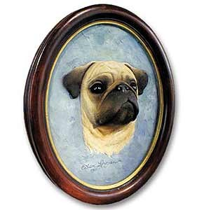 Pug Sculptured Portrait