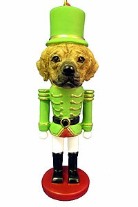 Puggle Ornament Nutcracker