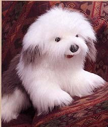 Old English Sheepdog Puppet