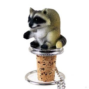 Raccoon Bottle Stopper