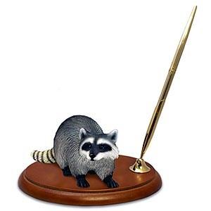 Raccoon Pen Holder