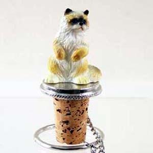 Ragdoll Cat Bottle Stopper