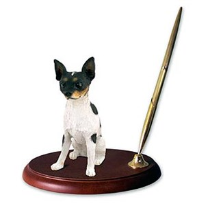 Rat Terrier Pen Holder