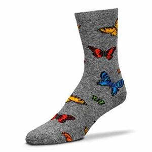 Realistic Butterflies Socks