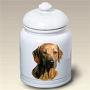 Rhodesian Ridgeback Treat Jar