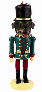 Rottweiler Ornament Nutcracker