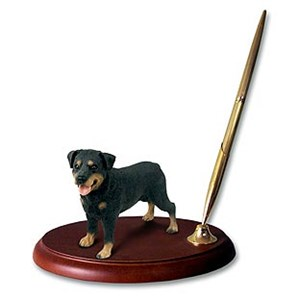Rottweiler Pen Holder