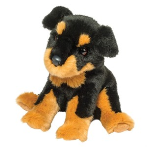Fred the Rottweiler Plush Stuffed Animal 16""