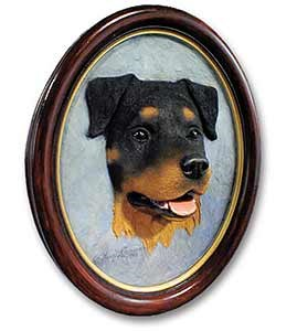 Rottweiler Sculptured Portrait