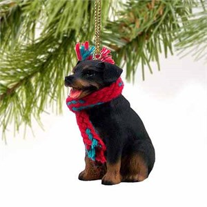 Rottweiler Tiny One Christmas Ornament