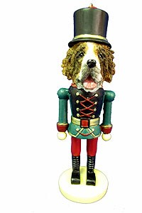 Saint Bernard Ornament Nutcracker