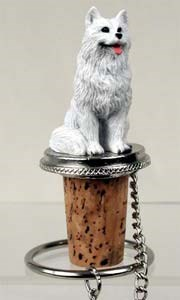 Samoyed�Bottle Stopper