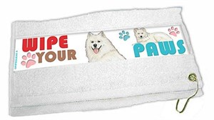 Samoyed Paw Wipe Towel