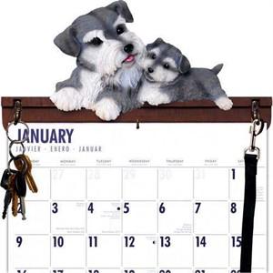 Schnauzer Calendar Caddy