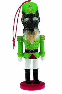 Schnauzer Ornament Nutcracker (Cropped)