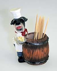 Schnauzer Toothpick Holder