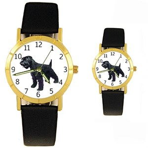 Schnauzer Watch Black