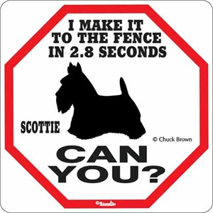 Scottie 2.8 Seconds Sign
