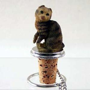 Scottish Fold Cat Bottle Stopper