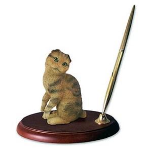 Scottish Fold Cat Pen Holder