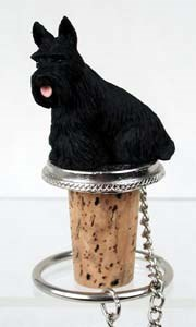 Scottish Terrier Bottle Stopper