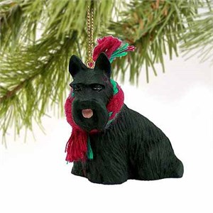 Scottish Terrier Tiny One Christmas Ornament