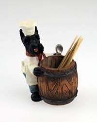 Scottish Terrier Toothpick Holder