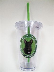 Scottish Terrier Tumbler