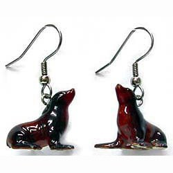 Sea Lion Earrings True to Life