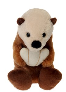 Bean Bag Baby Sea Otter Plush Stuffed Animal 5.5""