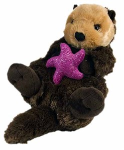 Sea Otter With Starfish Plush Stuffed Animal 15""