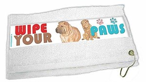 Shar Pei Paw Wipe Towel