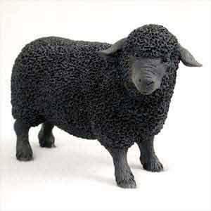 Sheep Figurine Black