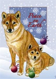 Shiba Inu Christmas Cards