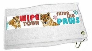 Shiba Inu Paw Wipe Towel