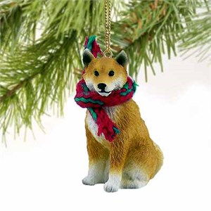 Shiba Inu Tiny One Christmas Ornament