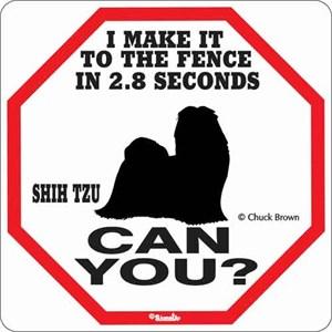 Shih Tzu 2.8 Seconds Sign