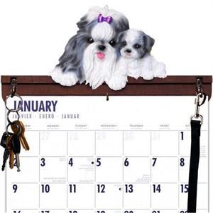 Shih Tzu Calendar Caddy