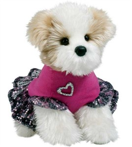 Shih Tzu Plush Stuffed Animal 10.5 Inch