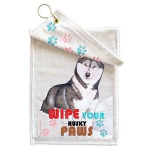 Siberian Husky Paw Wipe Towel
