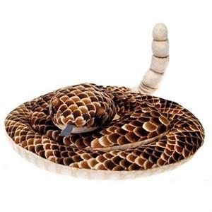"""Rattle Snake Plush Stuffed Animal 73"""""""