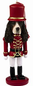 Springer Spaniel Ornament Nutcracker