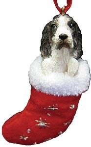 Springer Spaniel Christmas Stocking Ornament