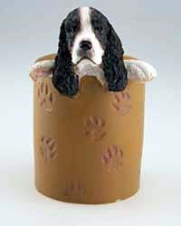 Springer Spaniel Pencil Holder