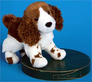 Springer Spaniel Plush Stuffed Animal 8 Inch