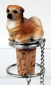 Tibetan Spaniel�Bottle Stopper