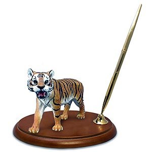 Tiger Pen Holder